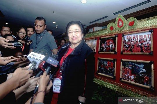 Megawati: soal menteri tunggu tanggal mainnya
