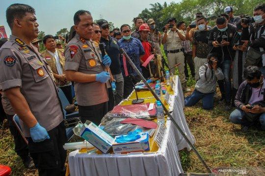 Polda Riau tetapkan luas lahan terkait Karhutla capai 1.526,8 hektare