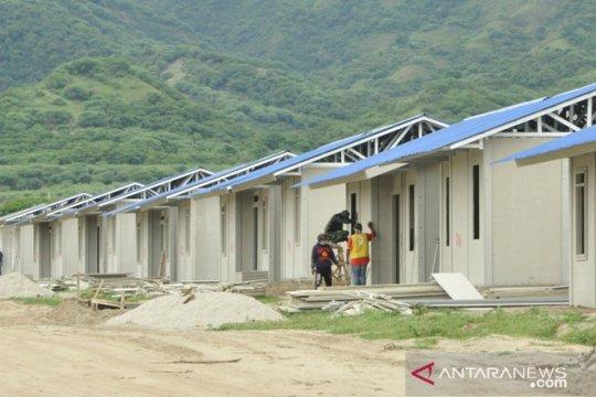 2.200 hunian dari pendonor dalam proses pembangunan