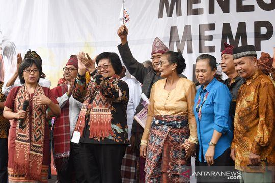 Perayaan 20 tahun Aliansi Masyarakat Adat Nusantara