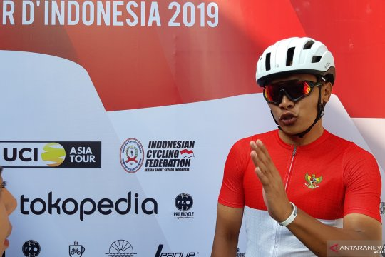 Projo Waseso penasaran dengan Yellow Jersey Tour d'Indonesia 2019