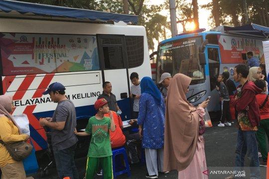Lokasi layanan Samsat keliling wilayah DKI Jakarta, Jumat