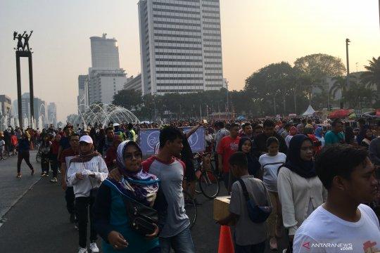 Pagi jelang Iduladha, kualitas udara Jakarta level merah