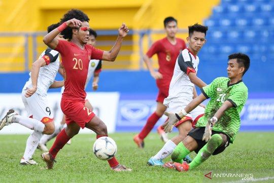 Garuda Nusantara ungguli Brunei Darussalam 5-0 di babak pertama