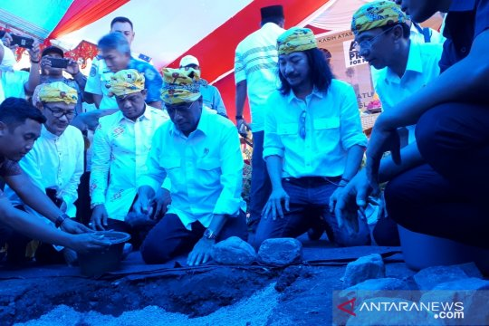 Menhub resmikan pembangunan kembali masjid pascagempa Sigi