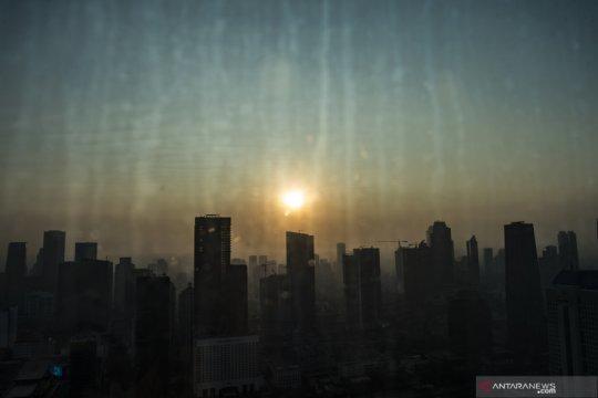 Kamis pagi, Jakarta tempati posisi ketujuh udara terburuk sedunia