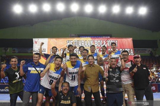 Semangat Jawa Barat juara, tim putra amankan gelar Pra PON 2020