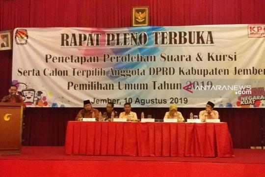 PKB dan PBB tidak hadiri rapat pleno terbuka KPU Jember