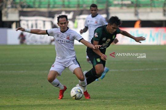 Pelatih Madura United puas timnya mampu tahan Persebaya