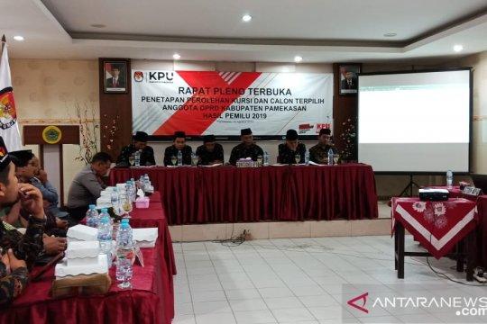 KPU Pamekasan tetapkan caleg terpilih hasil pemilu 2019