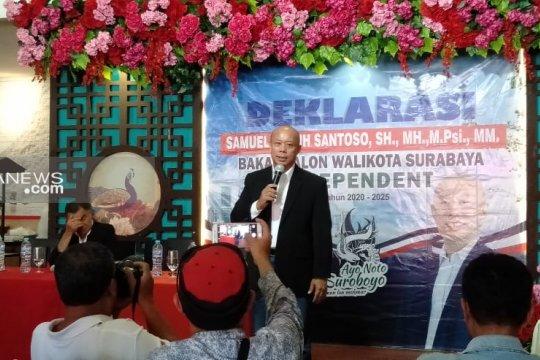 Samuel Teguh Santoso deklarasi Cawali Surabaya 2020 jalur independen