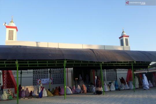 Masjid Alfalah tempat korban gempa-likuefaksi Sigi shalat Idul Adha