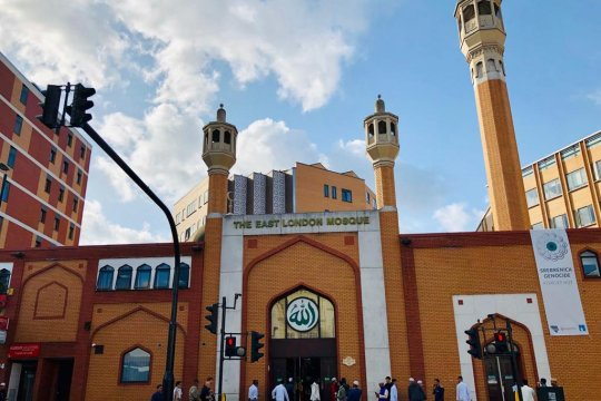 Sholat Idul Adha di berbagai masjid di Kota London