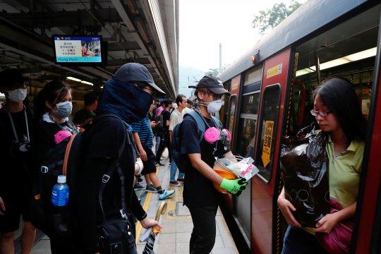 Hong Kong berada di titik kritis: pejabat China