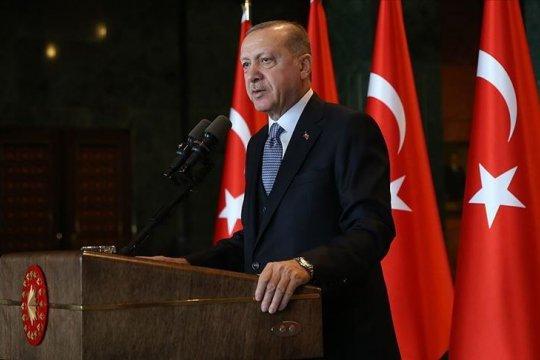 Erdogan: Turki tak lagi mampu tangani migran dari Suriah