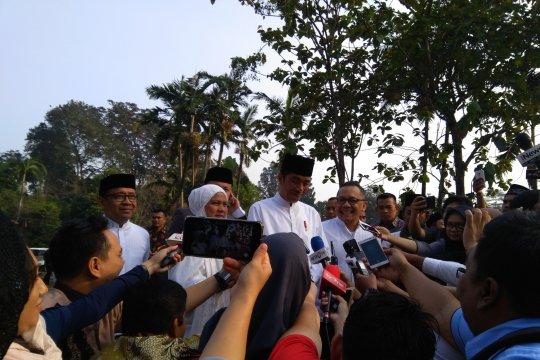 Jokowi: Lebaran Besar dorongan untuk kesalehan sosial