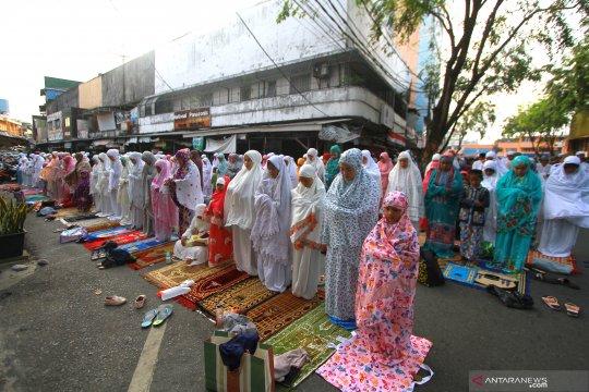 Shalat idul adha di Banjarmasin berjalan lancar