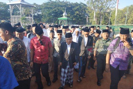 Wapres Jusuf Kalla ajak masyarakat doakan jamaah haji