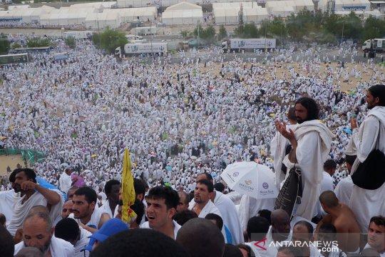 Jamaah diberangkatkan bertahap dari Arafah ke Muzdalifah