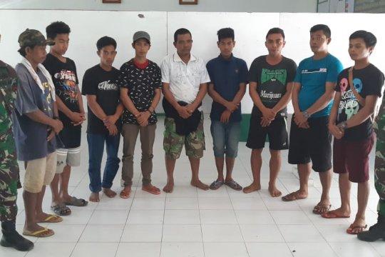 Satgas Pamtas gagalkan pengiriman delapan TKI ilegal ke Malaysia