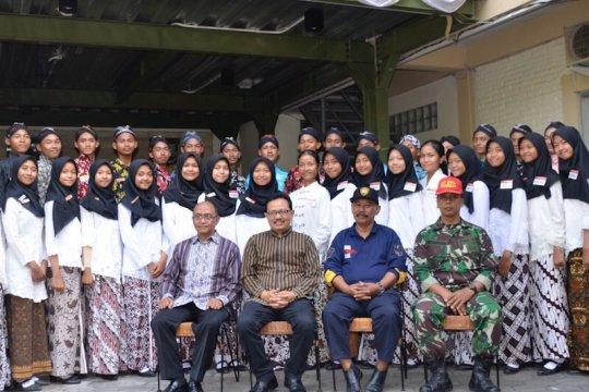 Anggota Paskibraka Kota Yogyakarta mulai jalani masa karantina