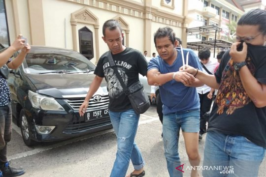 Polisi Jambi tangkap kurir 200 kg ganja asal Aceh