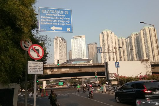 Polres Jakbar siapkan pengaturan ganjil-genap di Tomang Raya