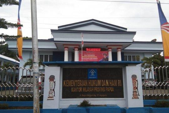 Baru lima lapas laporkan penerima remisi 17 Agustus di Papua