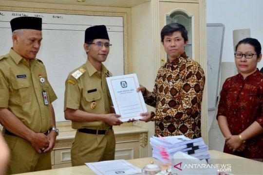 KPU Boyolali serahkan hasil Pemilu 2019