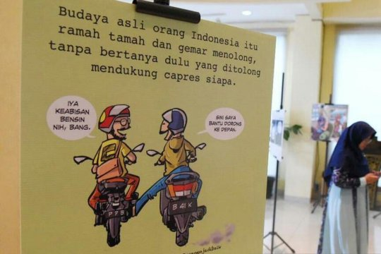 "PKS gelar pameran kartun bertema ""Merdekartun"""