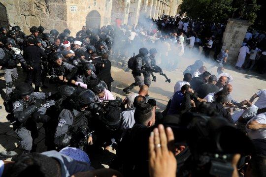 Presiden Palestina: Serangan Israel di Aqsha bisa jadi konflik agama