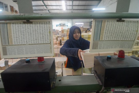 Percetakan Mushaf Al Quran di Bandung