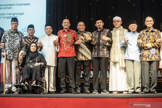 Silaturahmi dan dialog tokoh bangsa untuk persatuan NKRI