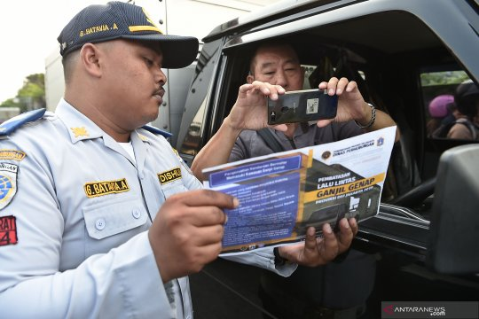 Uji coba ganjil genap, kualitas udara Jakarta di tingkat sedang