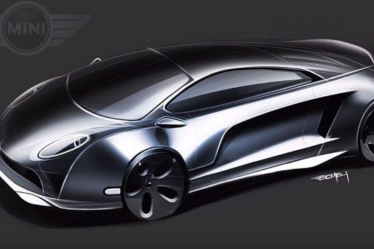 """Mini Cooper berkonsep """"supercar"""" hadir dalam bentuk sketsa"""