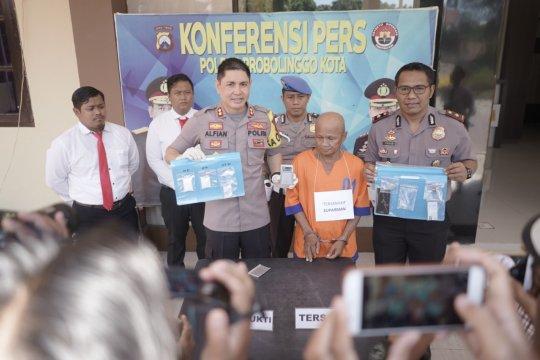Polresta Probolinggo tangkap petani miliki puluhan gram sabu