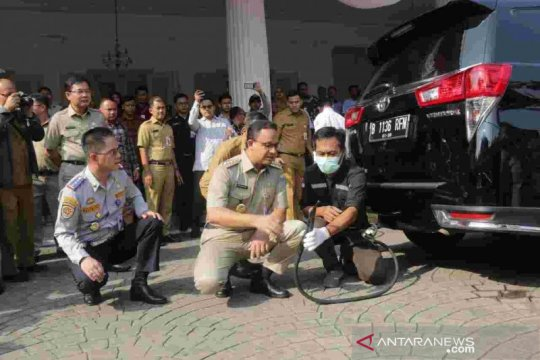 Kendaraan teruji emisi di Jakarta hanya lima persen