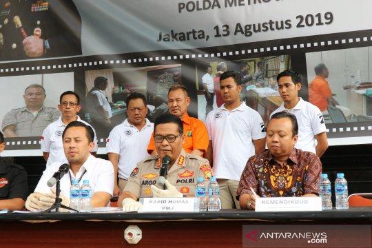 Polda Metro Jaya tangkap pelaku penipuan berkedok penerimaan PNS