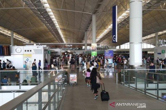 Bandara Hong Kong kembali dibuka, penerbangan Garuda normal hari ini