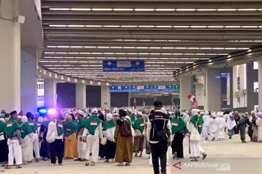 Amirul Hajj: Hujan di Mina tak ganggu ibadah jamaah Indonesia