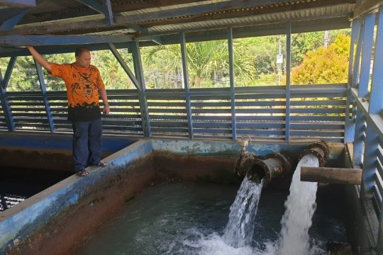 Debit sumber air turun, PDAM Jayapura minta masyarakat berhemat air