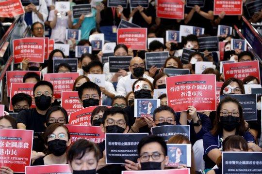Prancis desak otoritas Hong Kong lanjutkan dialog dengan demonstran