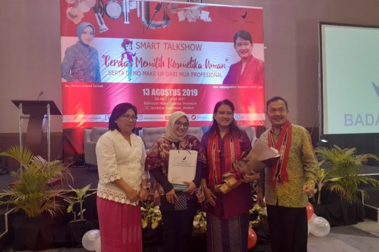BPOM Ambon kampanye cerdas memilih kosmetik aman