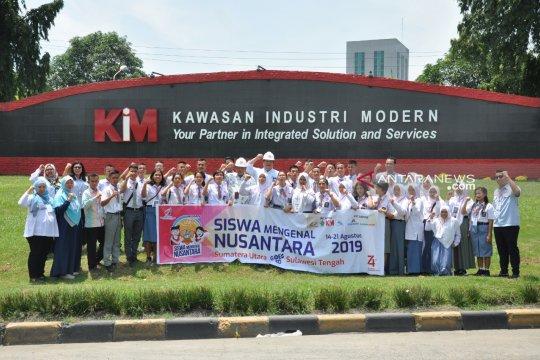 Peserta SMN 2019 kunjungi PT Kawasan Industri Modern
