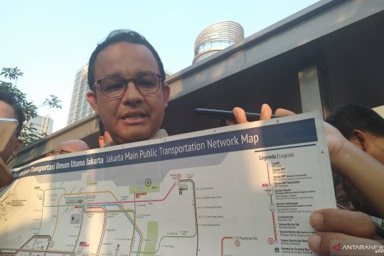 Peta transportasi, untuk tamu Jakarta hingga pembelajaran di sekolah