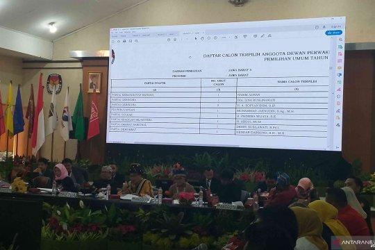 Partai Gerindra raih kursi terbanyak di DPRD Jabar 2019-2024