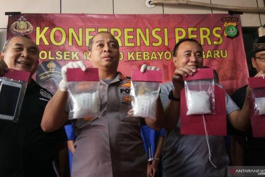 Polsek Kebayoran Baru tangkap pengedar narkoba jaringan lapas