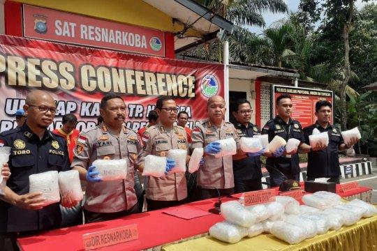 Polisi Indonesia-Malaysia kerja sama berantas narkoba