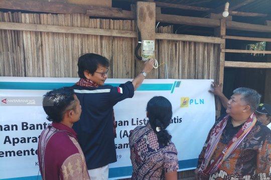 Kementerian ESDM bantu listrik gratis 253 rumah di Kabupaten Kupang