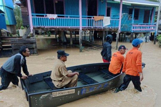 BNPB sebut curah hujan tinggi sebabkan banjir di Nunukan